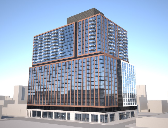 TF Cornerstone 33 Bond, 300 Livingston Street Project Rendering
