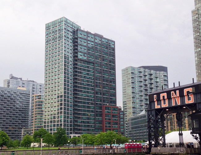 4720 Center Blvd, from Long Island City Piers, NYC