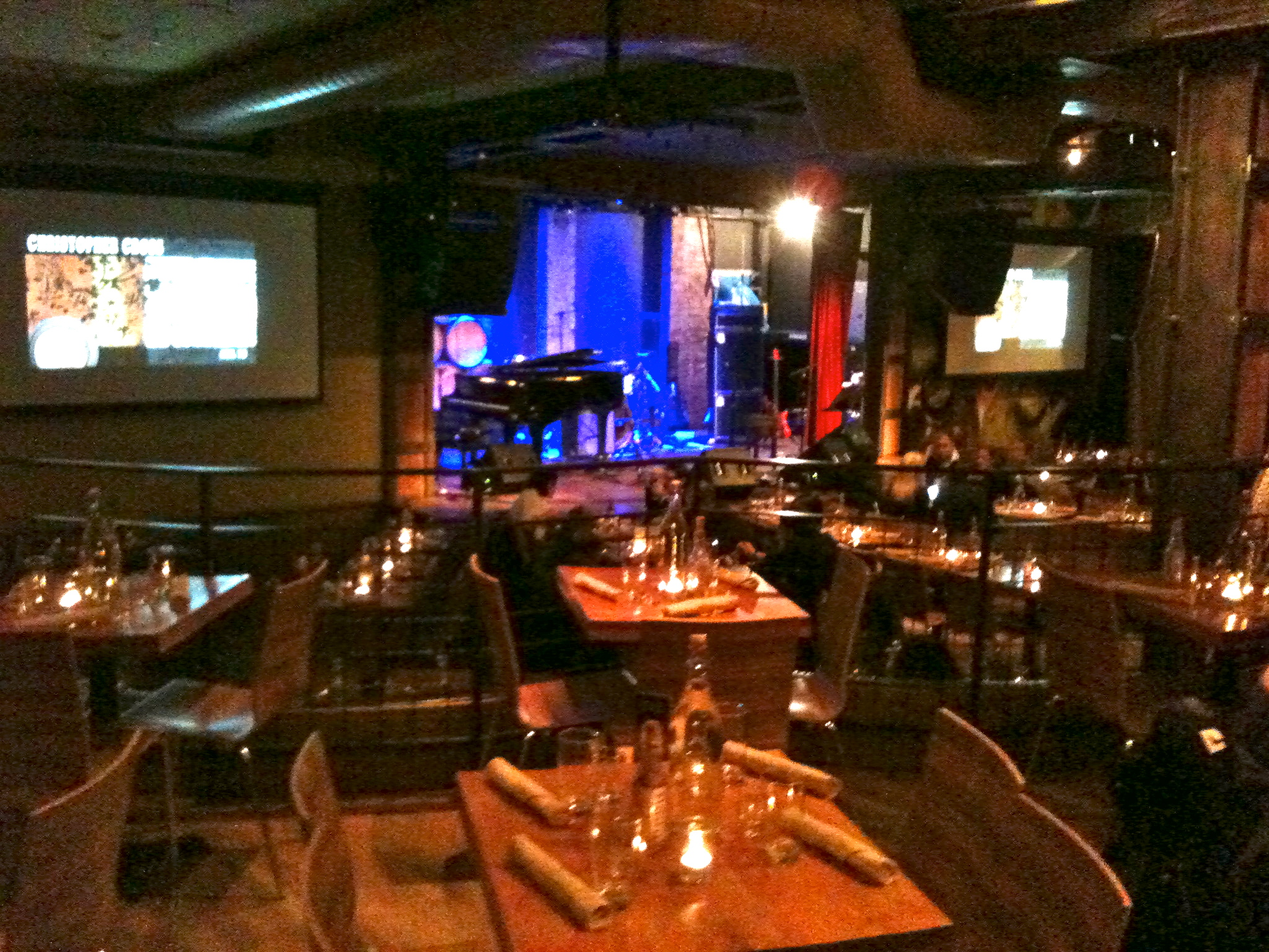 The event room for City Winery in NYC