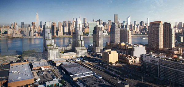 Hunters Point South Parcel C Rendering