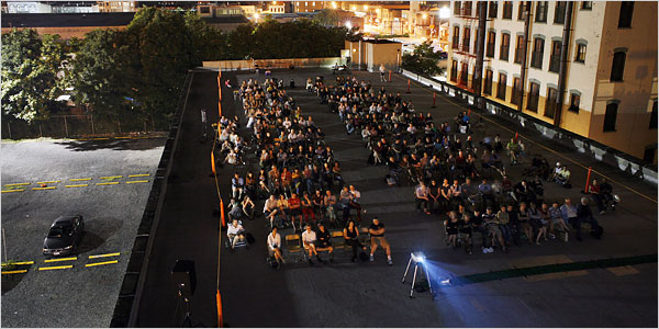 This year 39 s best nyc summer film series for free outdoor for Is piscine molitor patel a real person