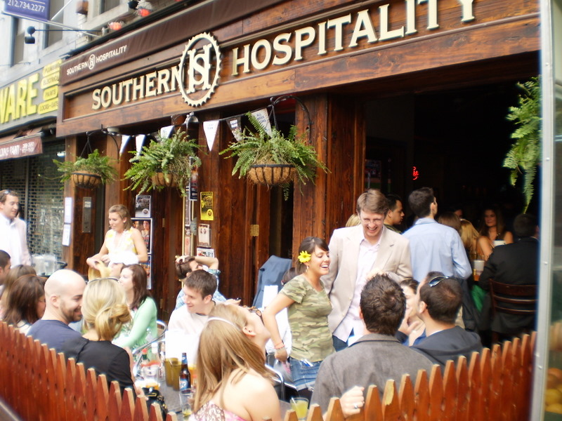 Upper East Side Restaurant Southern Hospitality Memphis BBQ In NYC TF Corn