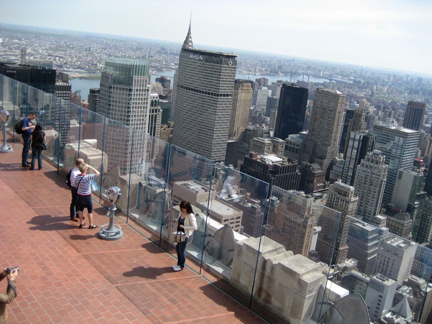 View from the top top of the rock nyc tf cornerstone for The best of nyc